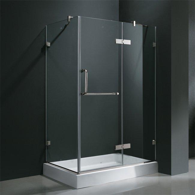 Cabine de douche baignoire ou douche l 39 italienne - Douche italienne fermee ...