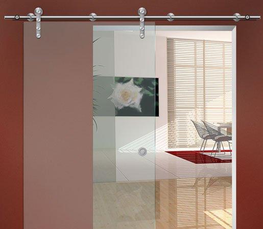 Porte coulissante en applique for Installer une porte coulissante en applique