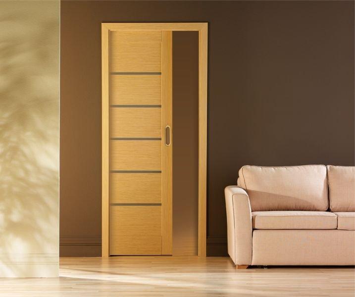 Porte galandage ou escamotable la solution minimaliste for Installer porte galandage