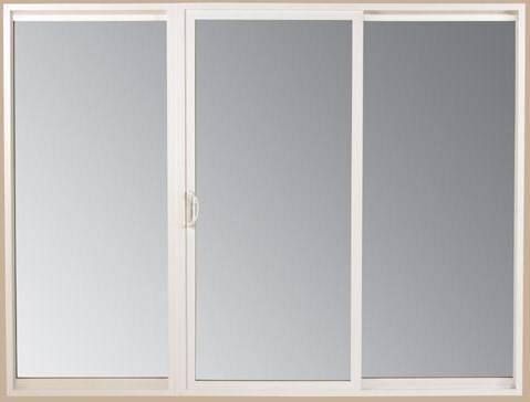 porte verre - Les matières des portes coulissantes: bois, aluminium et verre