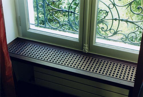Cache radiateur conseils et infos - Leroy merlin cache radiateur ...