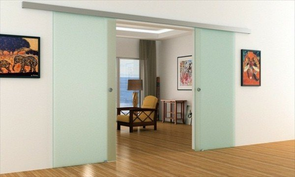 Portes coulissantes en verre: 43 idées design qui vont vous surprendre!