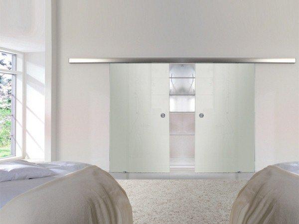 Porte galandage verre design - Porte galandage en verre ...