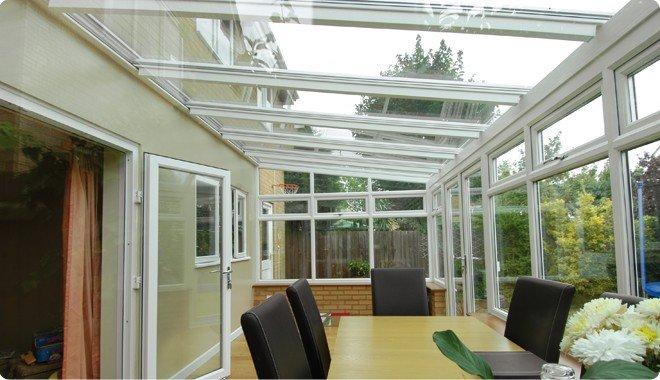 les toitures de v randa le toit plat en tuile en ardoise ou en polycarbonate. Black Bedroom Furniture Sets. Home Design Ideas