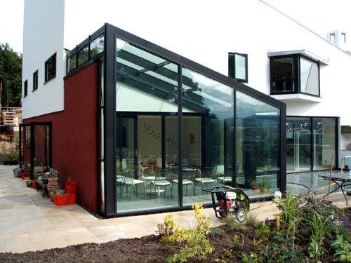 la v randa en acier avantages et inconv nients. Black Bedroom Furniture Sets. Home Design Ideas