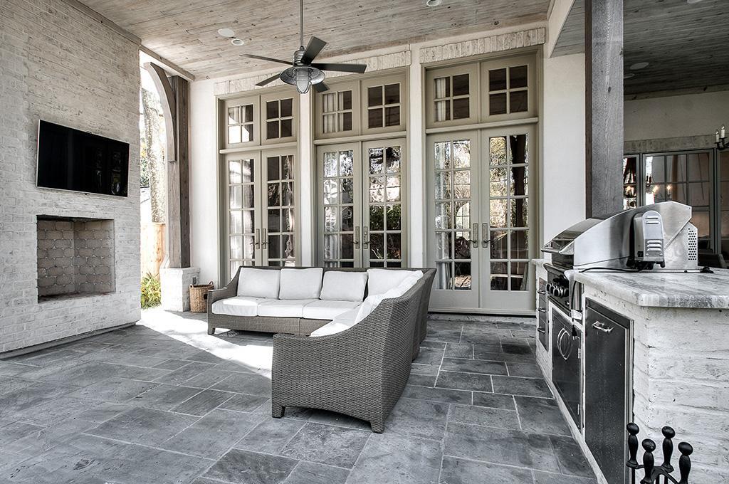Faire de votre v randa votre cuisine avantages et for Amenagement interieur d une veranda