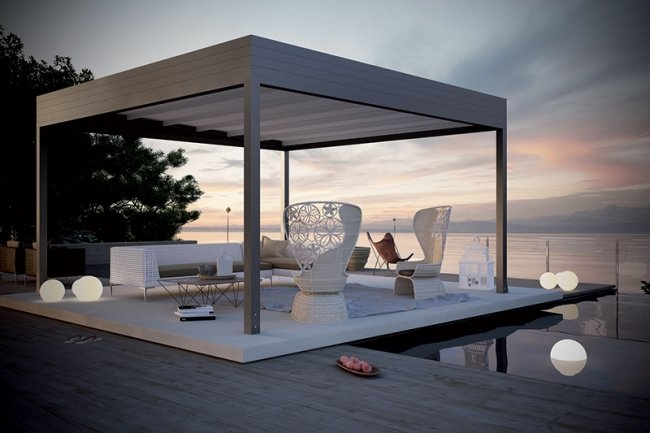 pergola le guide 2018 pour bien choisir le style et les mat riaux. Black Bedroom Furniture Sets. Home Design Ideas