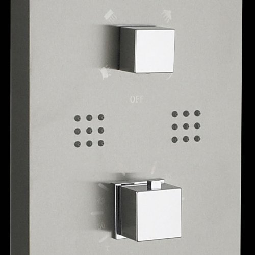 colonne de douche encastrer thermostatique hudson reed. Black Bedroom Furniture Sets. Home Design Ideas
