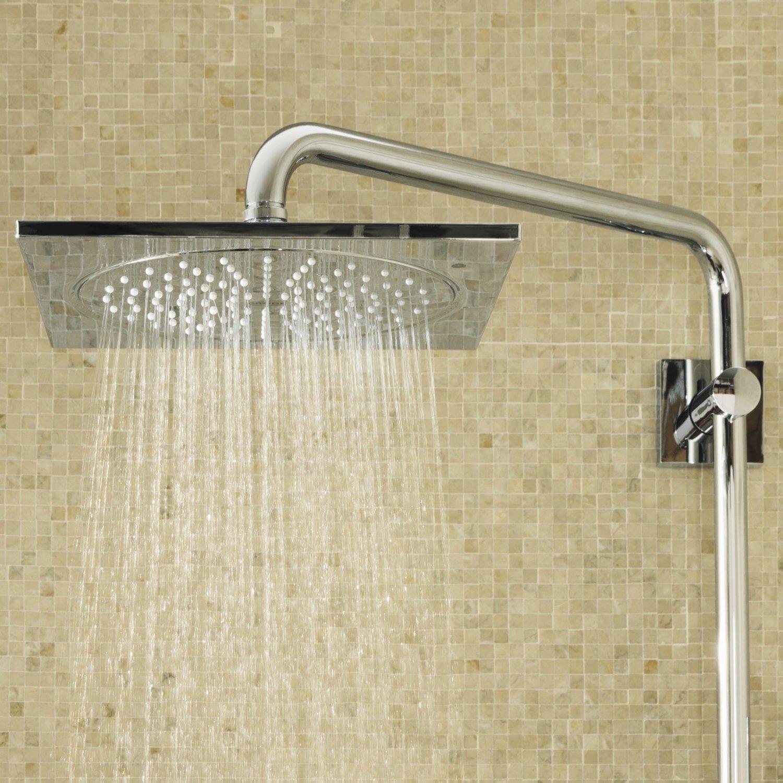 colonne de douche grohe rainshower f series et thermostat notre avis. Black Bedroom Furniture Sets. Home Design Ideas