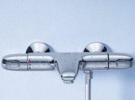 Notre avis sur le mitigeur thermostatique Bain/Douche Grohtherm 1000 (avec CoolTouch®)