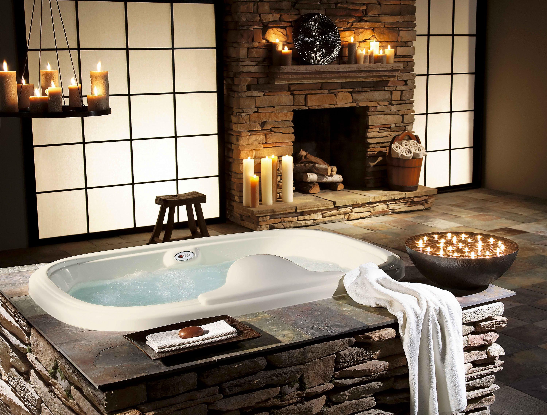 rénover  salle de bains rustique