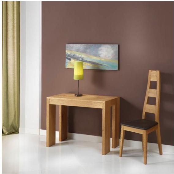 inspiration 20 designs de table console qui vont vous surprendre. Black Bedroom Furniture Sets. Home Design Ideas