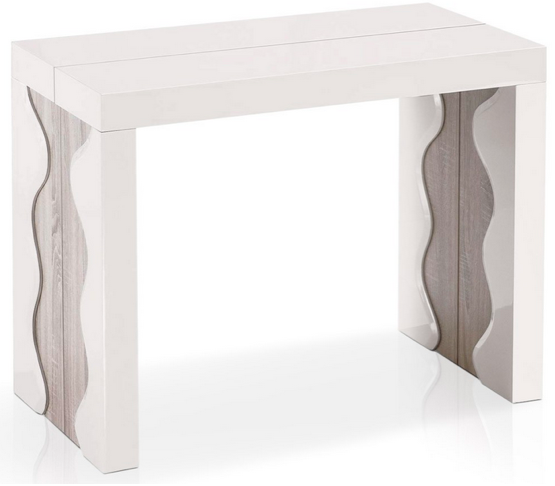 Inspiration 20 designs de table console qui vont vous for Table extensible jusqu a 14 personnes