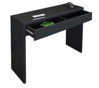 Console bureau wenge - Ikea console informatique ...
