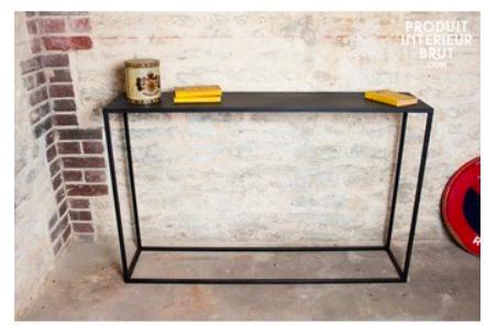 console-longue-myriam Inspiration: 20 designs de table console qui vont vous surprendre
