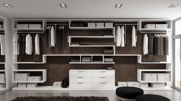 conseils am nagement dressing. Black Bedroom Furniture Sets. Home Design Ideas