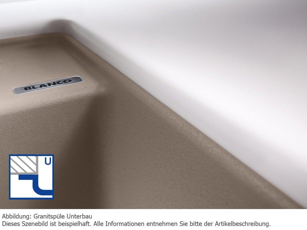 vier blancolexa - Notre avis sur l'évier 2 bacs BLANCO encastrable Blancolexa 8S en Silgranit®
