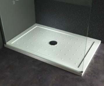 Diff rence receveur de douche poser ou encastrer - Comment poser une cabine de douche ...