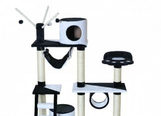 le match arbre chat naturel vs arbre synth tique. Black Bedroom Furniture Sets. Home Design Ideas