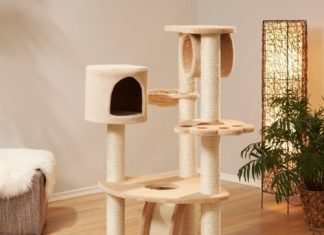 Arbre chat extrieur with arbre chat extrieur amazing maison pour chat en bois plan niche pour - Arbre a chat truffaut ...