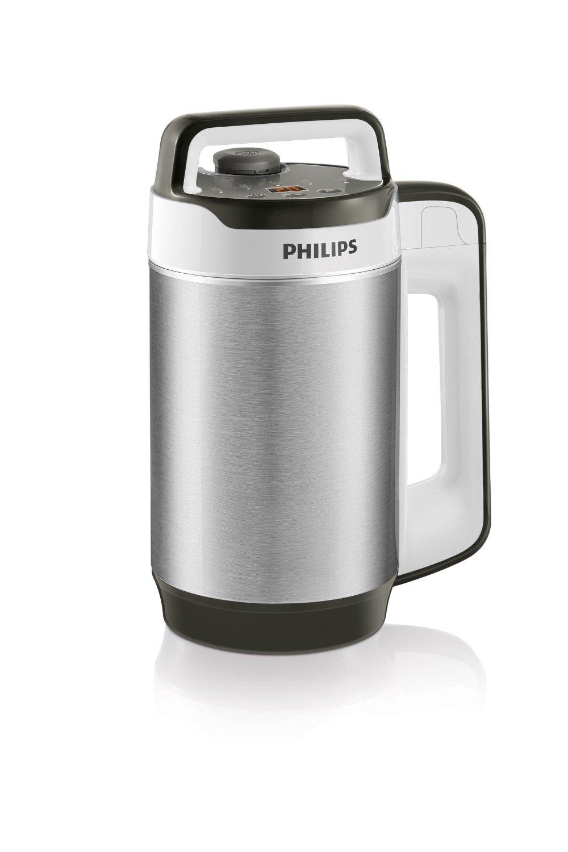 matériau inox blender - Notre avis sur le blender chauffant Philips HR2202/80 double paroi isolante 990 W 1,2 L