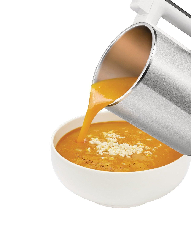 préparations de soupe avec le modèle philips blender chauffant - Notre avis sur le blender chauffant Philips HR2202/80 double paroi isolante 990 W 1,2 L