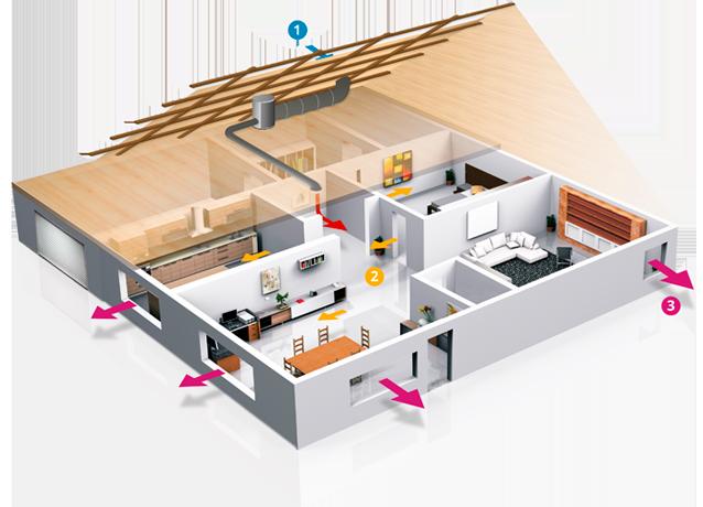 d ou vient l humidit dans une maison de maisons bois en. Black Bedroom Furniture Sets. Home Design Ideas