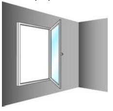 types d'ouverture de fenêtres