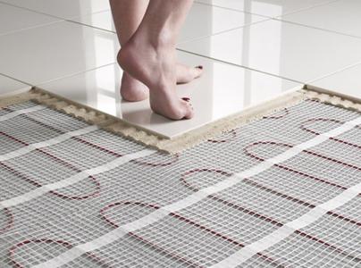 plancher chauffant moderne