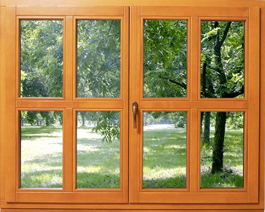 fenêtre-en-bois-en-situation Les fenêtres en bois: avantages et inconvénients