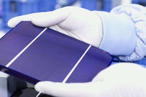 cellules photovoltaïques monocristallines