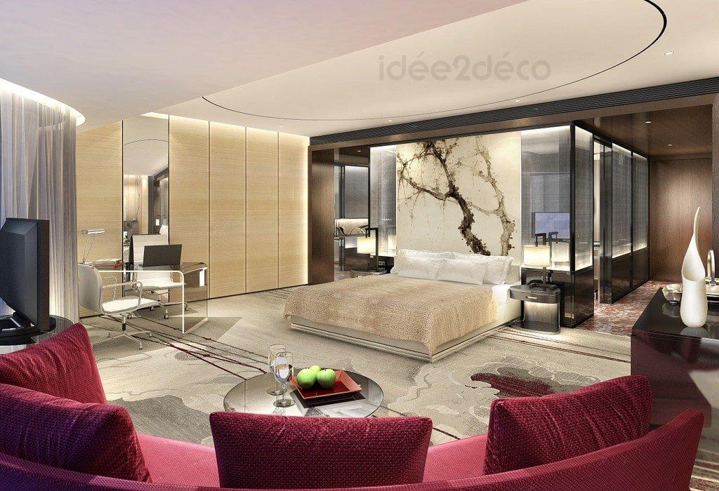 am nager un grand studio moderne. Black Bedroom Furniture Sets. Home Design Ideas