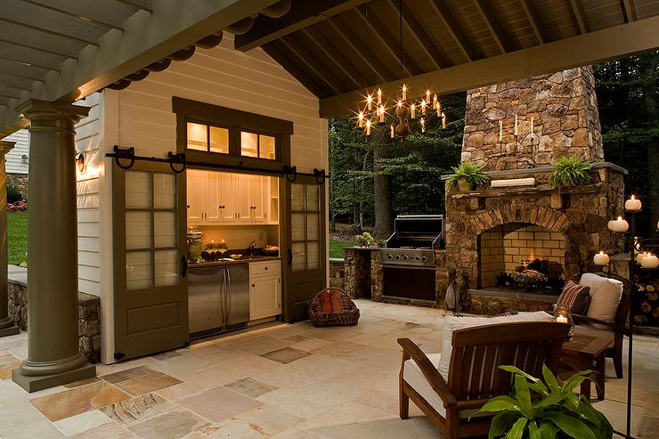 cuisine d t 28 concepts d am nagement pour profiter pleinement de son jardin. Black Bedroom Furniture Sets. Home Design Ideas