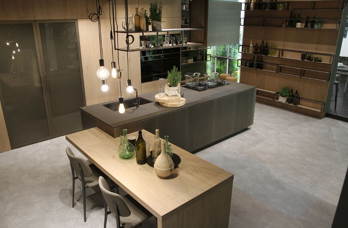 cuisine moderne contemporaine 17 mod les incroyables 2016 2017. Black Bedroom Furniture Sets. Home Design Ideas