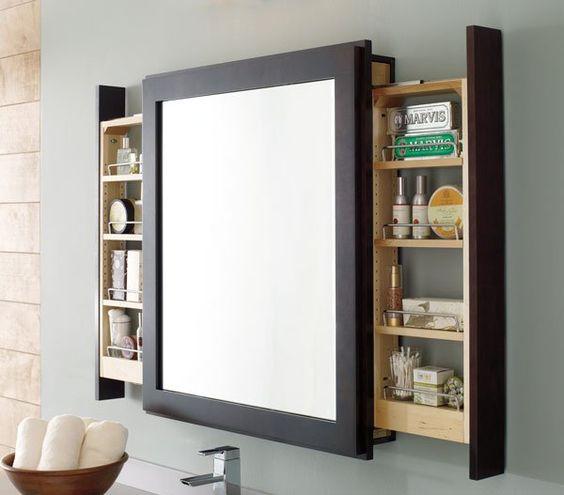 Exemple de meuble-miroir. Source: https://fr.pinterest.com/pin/337770040779152562/