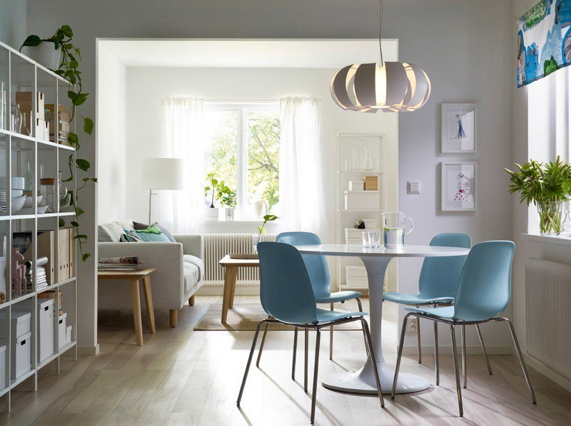 salle manger d inspiration scandinave la sobri t du mobilier nordique. Black Bedroom Furniture Sets. Home Design Ideas