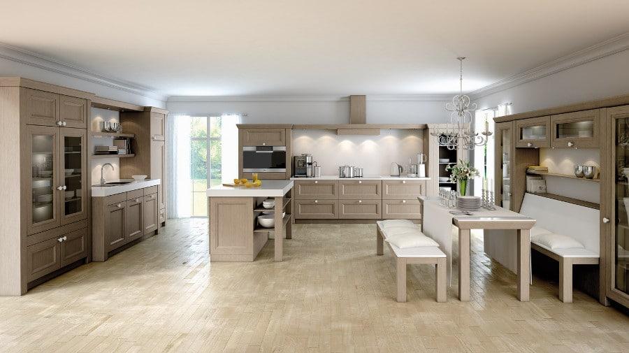 cuisine de charme 17 mod les qui vont vous faire tourner la t te. Black Bedroom Furniture Sets. Home Design Ideas