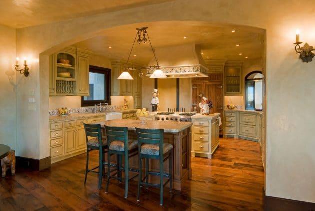 cuisine de charme 17 mod les qui vont vous faire tourner. Black Bedroom Furniture Sets. Home Design Ideas