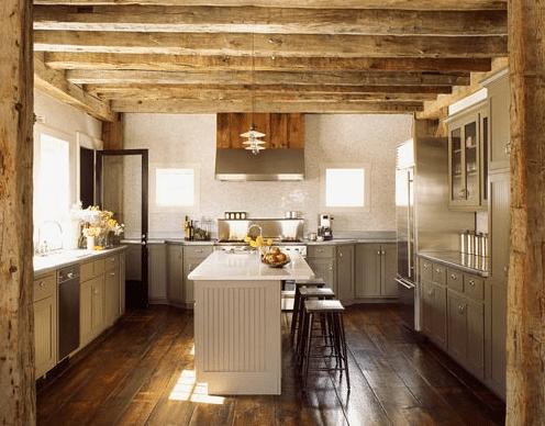 cuisine rustique et contemporaine - Cuisine contemporaine : 10 styles et ambiances pour les maisons d'aujourd'hui