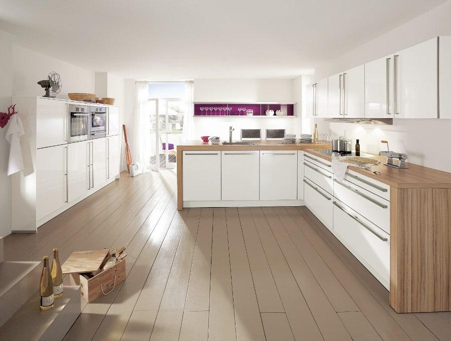 cuisine d inspiration scandinave 15 mod les design qui voquent le grand nord. Black Bedroom Furniture Sets. Home Design Ideas