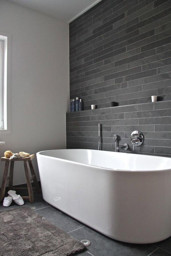 Salle de bain en pierre naturelle : le minéral s\'invite en ...