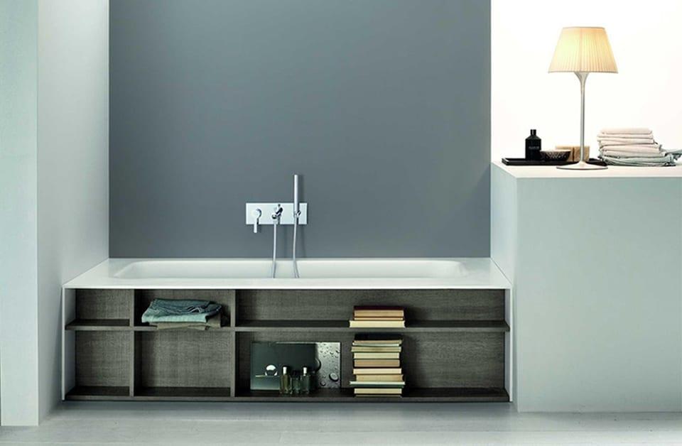5 astuces pour optimiser les rangements dans une salle de bain for Rangement baignoire