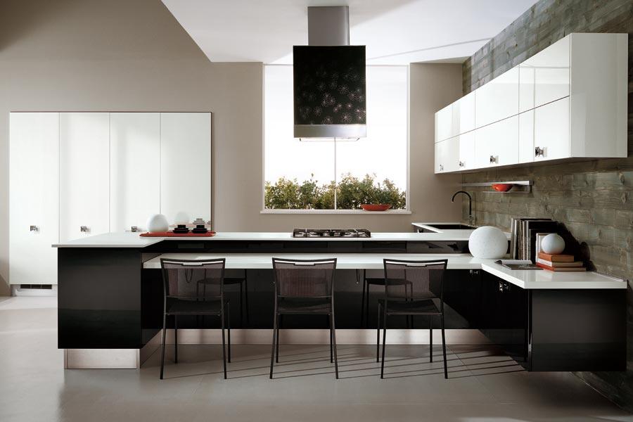 Une idée d'aménagement inspirante pour une cuisine haut de gamme.