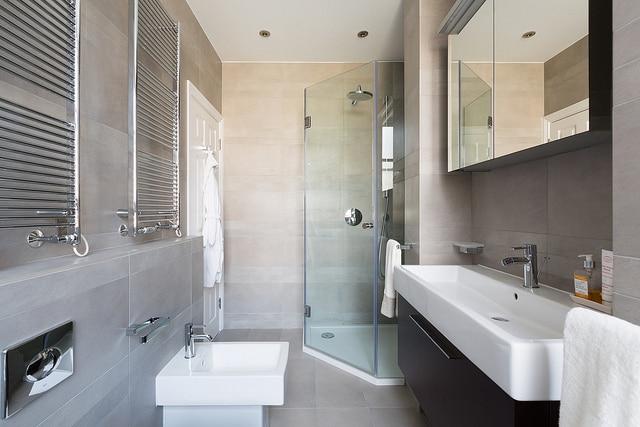 Déco salle de bain : 17 photos de salles de bains rustiques et ...