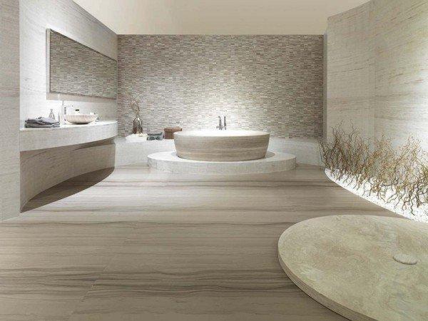 salle de bain 100 travertin - Salle de bain zen : 7 conseils pour créer une ambiance relaxante