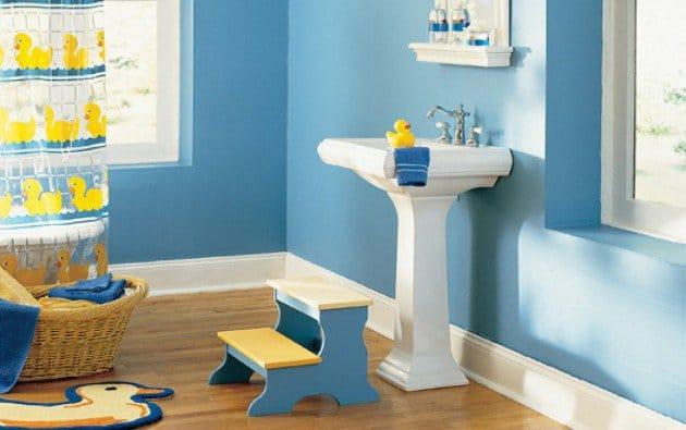 Salle De Bain Enfant: 15 Idées Pratiques Pour Sublimer L'Enfance