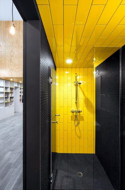 Salle de bain jaune: 10 modèles pour vous faire changer d\'avis sur ...