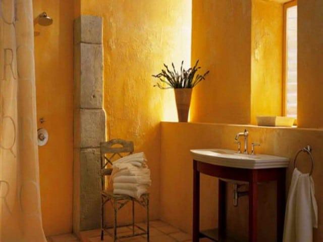 Salle de bain jaune 10 mod les pour vous faire changer d for Salle de sejour jaune