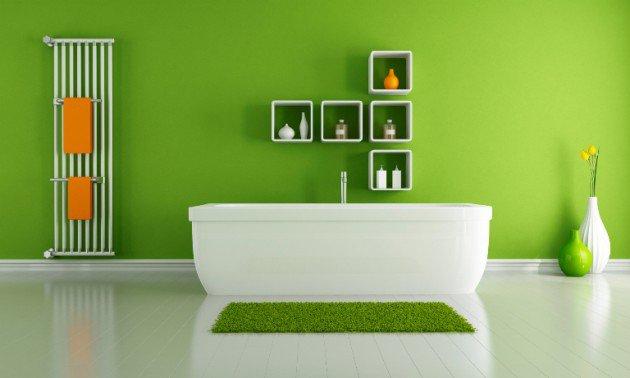 salle-de-bain-vert-flashy