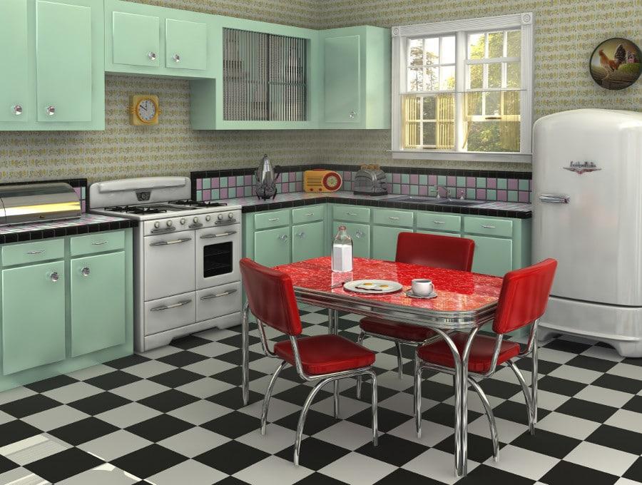 Cuisine vintage ces 6 mod les vont vous faire regretter votre cuisine moderne - Cuisine retro moderne ...
